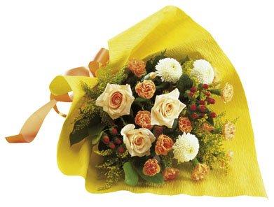 Seasonal Bouquet (yellow & orange)