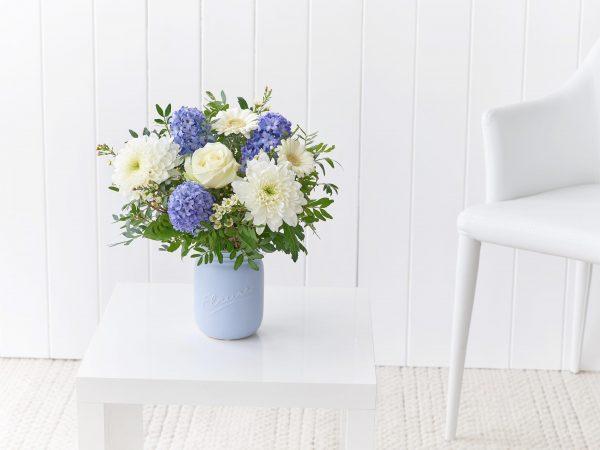 Crisp Blooms Jar