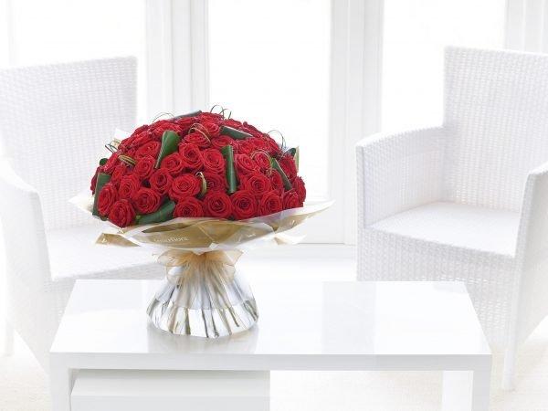 Inolvidable 50 Rosa Roja Hecho A Mano