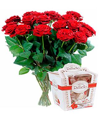Roses & Raffaello Candies