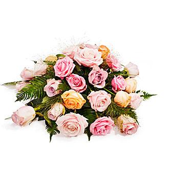Funeral Argmt w/Roses