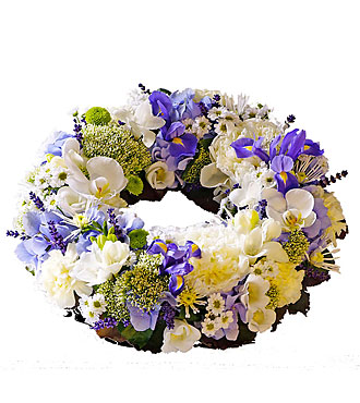 Wreath for funeral