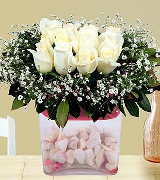 Arrangement of White Rose