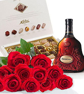 Roses, Cognac and Chocola