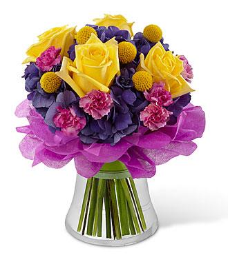 Happy Times Bouquet -Vase