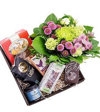 Gift Box w/Bqt- Florist