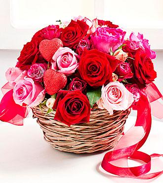 Valentine's Day flower ar