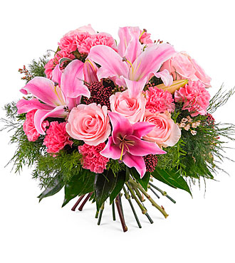 Mixed bouquet with Roses