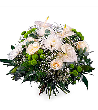 Spring Bouquet with Anthu