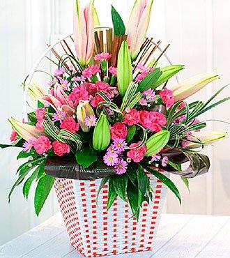 Pink & Purple bouquet in