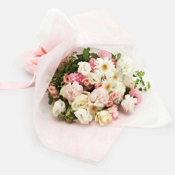 Mother's Day white & pink