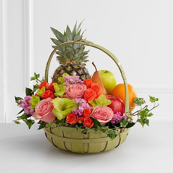 Rest in Peace Fruit & Flowers