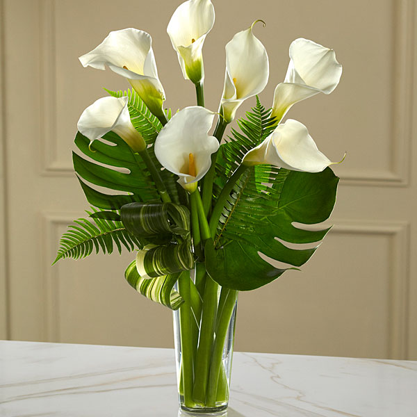 Always Adored Calla Lily Bouquet - Deluxe