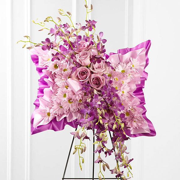 Simply Restful Floral Pillow